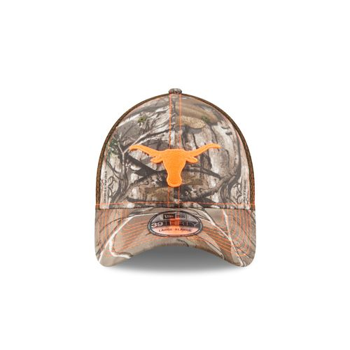 New Era Men's University of Texas Realtree Neo 39THIRTY Cap