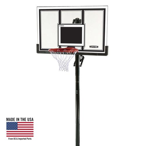 Lifetime 54' Makrolon® Inground Basketball Hoop