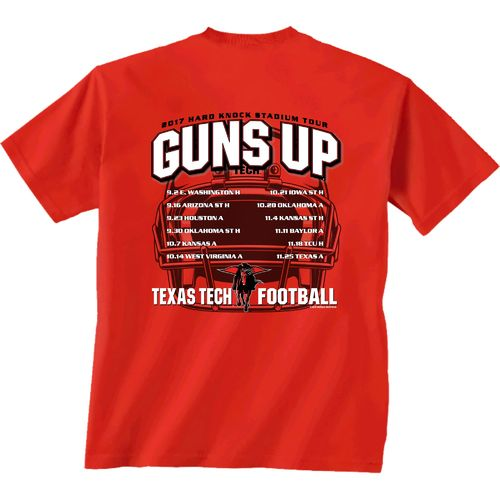 New World Graphics Men's Texas Tech University Football Schedule '17 T-shirt