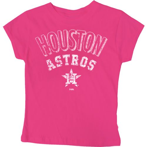 Stitches Girls' Houston Astros City Arch T-shirt