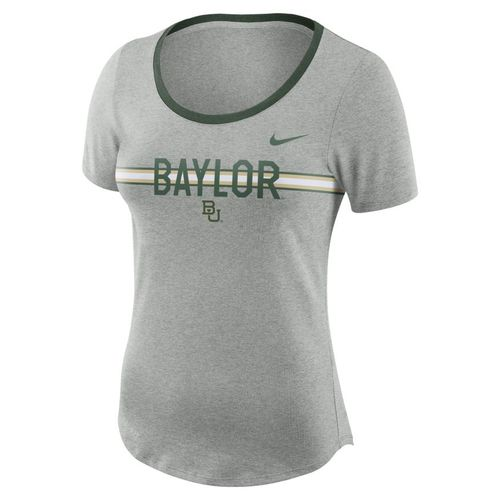 Nike Women's Baylor University Dry Strike Slub T-shirt