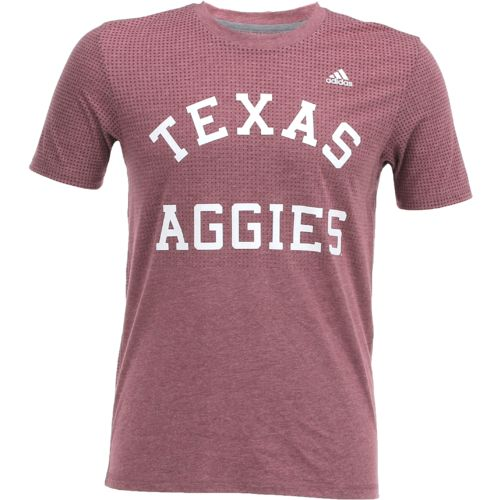 adidas Men's Texas A&M University climacool Hustle T-shirt