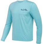 Salt Life Men's American Tail Performance Long Sleeve T-shirt - view number 3