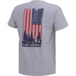 POINT Sportswear Men's Outdoor Enthusiast Camp America Short Sleeve T-shirt - view number 2