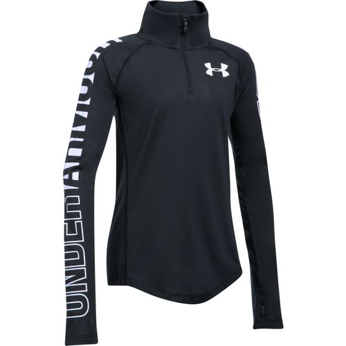 Under Armour Girls' Threadborne 1/4 Zip Pullover - view number 1
