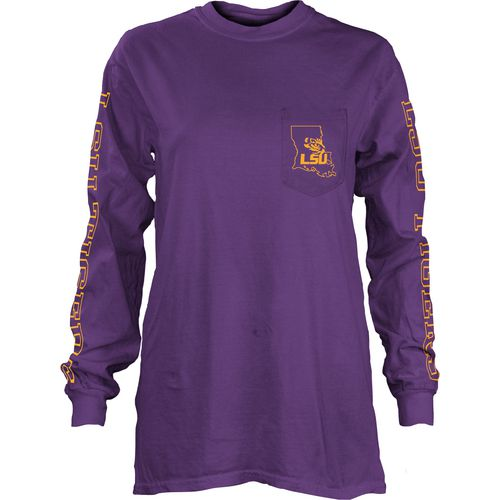 Three Squared Juniors' Louisiana State University Mystic Long Sleeve T-shirt
