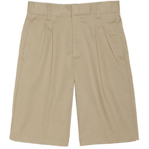 French Toast Boys' Pleated Adjustable Waist Short