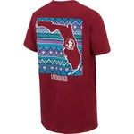 New World Graphics Women's Florida State University Terrain State T-shirt - view number 2