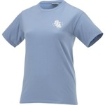 New World Graphics Women's Stephen F. Austin State University Comfort Color Circle Flowers T-shi - view number 3