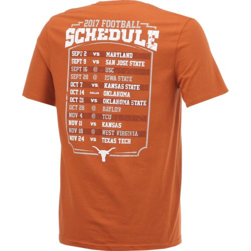 We Are Texas Men's University of Texas Longhorns 2017 Schedule T-shirt - view number 2
