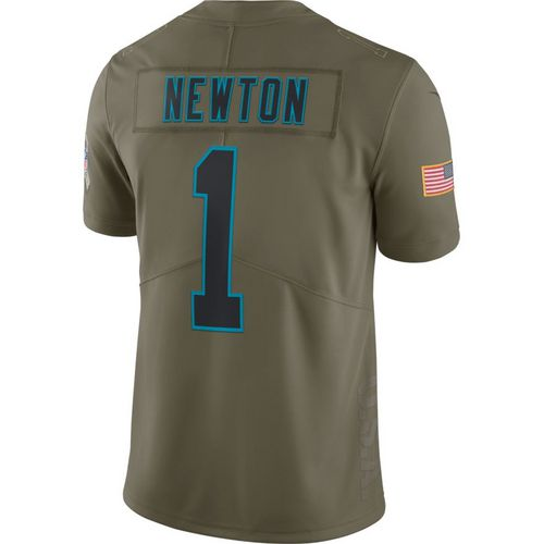 Nike Men's Carolina Panthers Cam Newton Salute to Service '17 Limited Jersey
