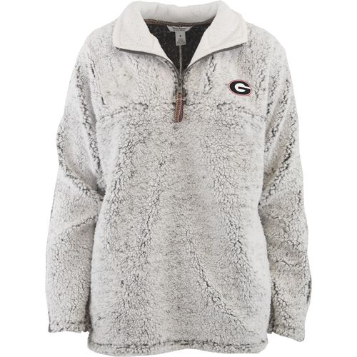 Three Squared Juniors' University of Georgia Poodle Pullover Jacket