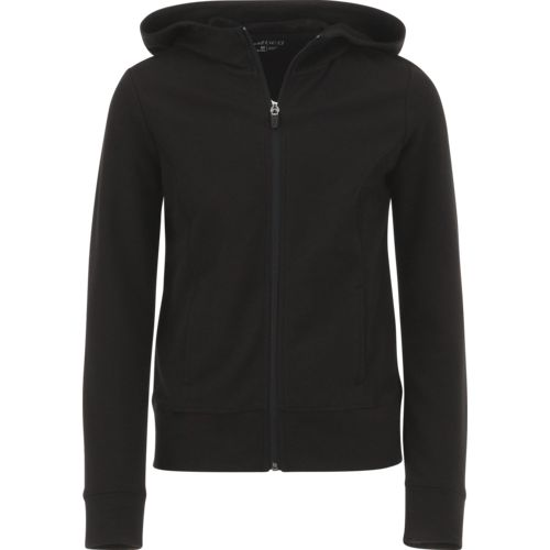BCG Girls' French Terry Full Zip Jacket