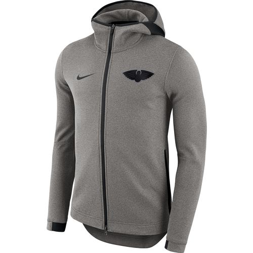 Nike Men's New Orleans Pelicans Showtime Full Zip Hooded Jacket