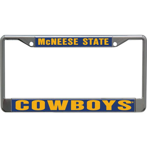 Stockdale McNeese State University Mirror Metal License Plate Frame