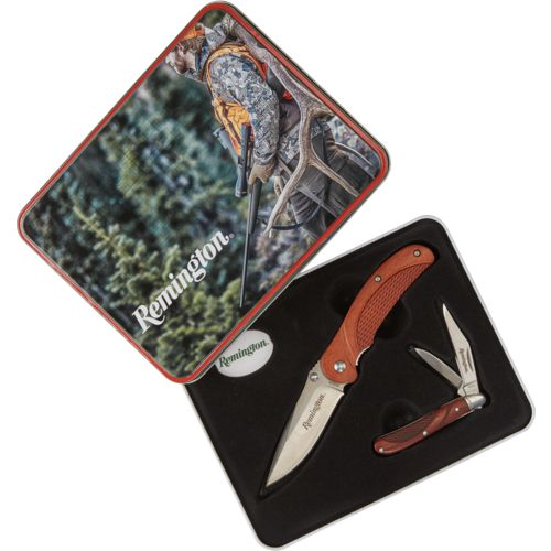 Remington 2-Knife Combo with Holiday Tin