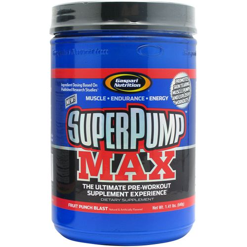 Gaspari Nutrition SuperPump MAX Supplement