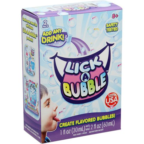 Lick-A-Bubble Create Flavored Bubbles, 2-pack - view number 2