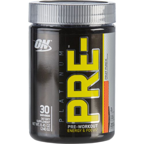 Optimum Nutrition Platinum Pre-Workout Powder
