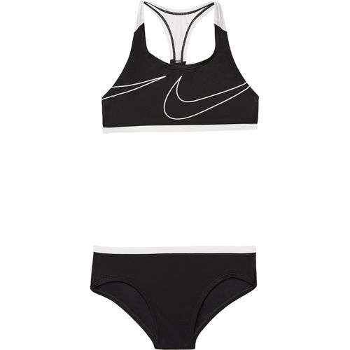 Nike Girls' Swim Macro Swoosh Racerback 2-Piece Sport Swimsuit