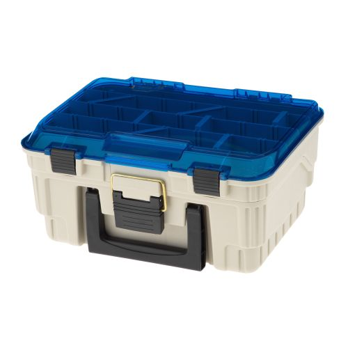 Display product reviews for Plano® 2-Level Magnum Satchel Tackle Box