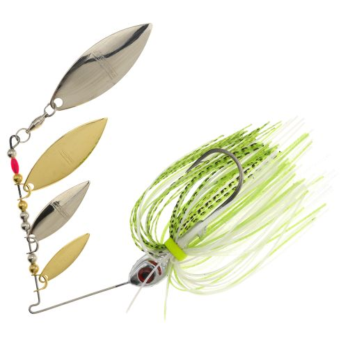 Display product reviews for BOOYAH Super Shad 3/8 oz Multi Willow Blade Spinnerbait