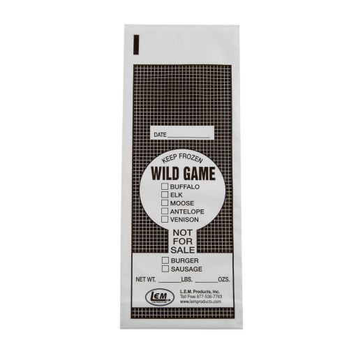 Display product reviews for LEM 1 lb. Wild Game Bags