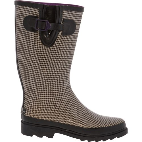 Stone Creek™ Women's Houndstooth Rubber Boots