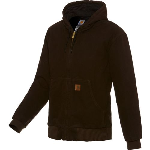 Carhartt Men's Sandstone Active Hooded Jacket