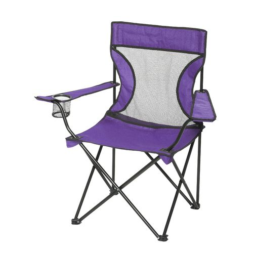 Timber Creek Mesh Folding Armchair