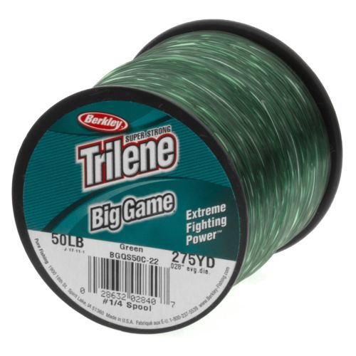 Display product reviews for Berkley® Trilene Big Game 50 lb. - 275 yards Monofilament Line