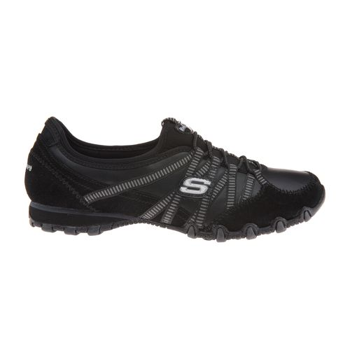 SKECHERS Women's Bikers Dream Come True Bungee Casual Shoes
