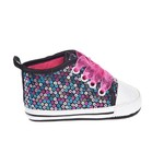 Rising Star Infant Sequin Hi-Top Shoes