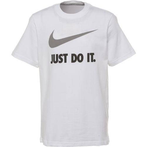 Nike Boys' QT Just Do It Swoosh Short Sleeve Crew T-shirt
