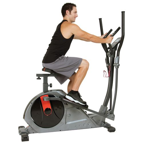 Body Power Deluxe 2 in 1 Elliptical/Bike Dual Trainer