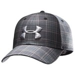Under Armour® Men's Dance Floor Plaid Stretch Fit Golf Cap
