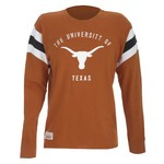 Majestic Men's University of Texas Section 101 Campus Legacy Pigskin Power T-shirt