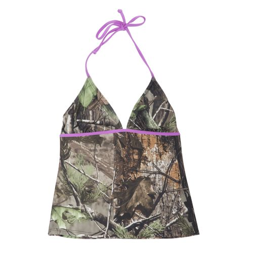 Image for Realtree Junior's APG Halter Tankini Swim Top from Academy