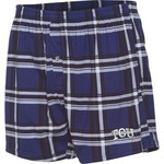 Concepts Sport Men's Texas Christian University Millennium Plaid Boxer