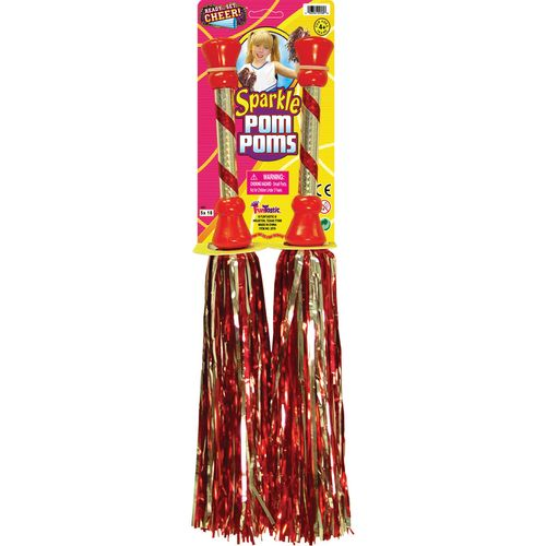 "Funtastic Ready Set Cheer 17"" 2-Color Sparkle Pom"