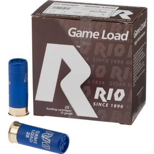 Rio Game Load 12 Gauge 8 Shotshells
