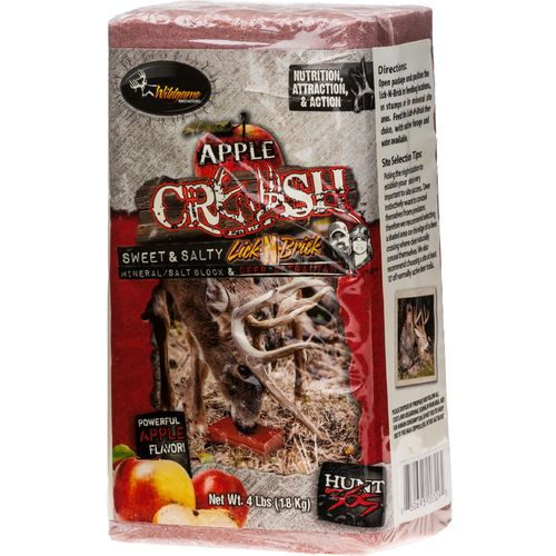 Display product reviews for Wildgame Innovations Apple Crush 4 lb. Mineral Salt Block