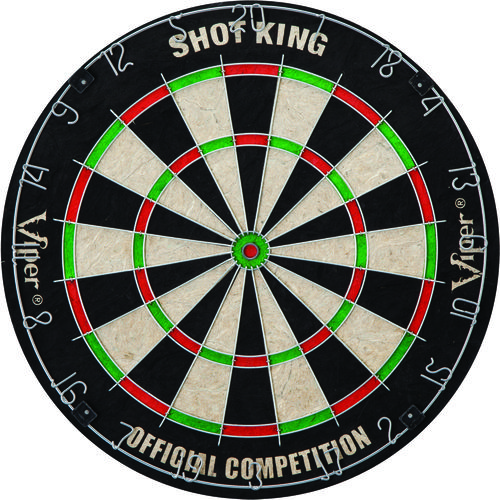 Image for GLD Shot King Bristle Dartboard from Academy