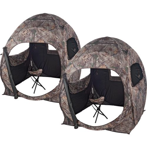 Ameristep Double Trouble Ground Blinds 2-Pack