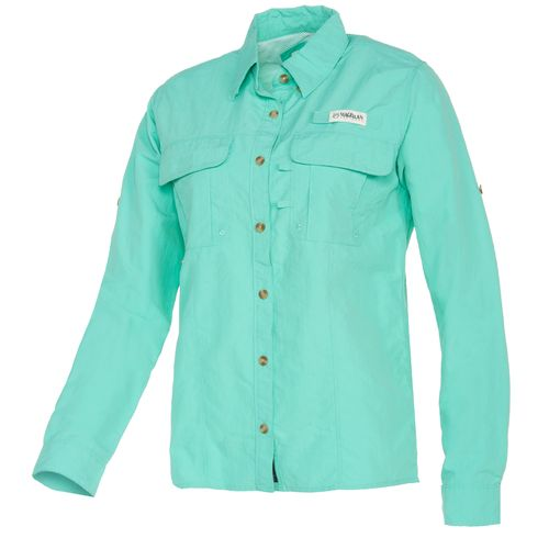Academy magellan outdoors women 39 s fishgear laguna madre for Magellan fishing shirts