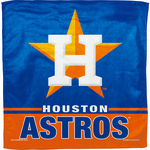 "WinCraft Houston Astros 16"" x 16"" Microfiber Towel"