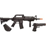 Crosman Elite Front Line Force Airsoft Rifle and Pistol Combo Kit - view number 2