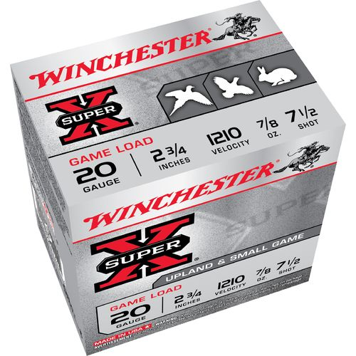 Display product reviews for Winchester Super-X Game and Field Loads 20 Gauge Shotshells