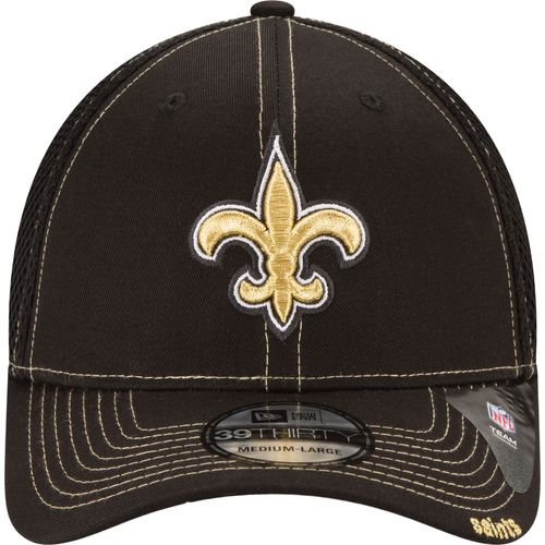 New Era Men's New Orleans Saints 39THIRTY Neo Cap - view number 3