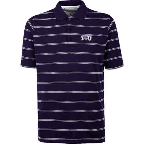 Antigua Men's Texas Christian University Deluxe Polo Shirt